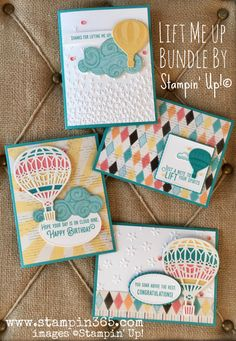 More Fun With the Lift Me Up Bundle | Stampin' 365