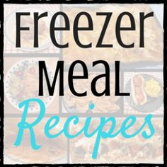 Tried,True, and Easy Freezer Meals Part 6 of the Master Guide to Freezer MealsThis is the final part of The MasterGuide to Freezer Meals. Throughout this series of posts, I have explainedin detail how I stock my deep freeze every 3 months. Here are links to other posts in this series: