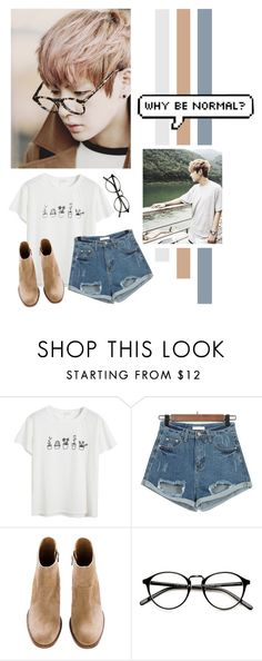 """""""Kim Taehyung"""" by lazy-alien ❤ liked on Polyvore featuring Chicnova Fashion, bts and KimTaehyung"""