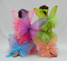 Custom+Fairy+Wings+Embellished+with+Roses+Tulle+&+by+EllaDynae,+$38.00