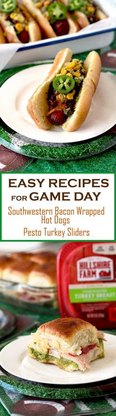 Game Day Foods are as important as the big game! Whether you are hosting a big party or just enjoying the game at home, these two easy and delicious recipes plus my tips for stress-free entertaining will turn any game day into a victory! #ad #Tysonwinninglineup #gameday #recipes #superbowl via @lmnblossoms