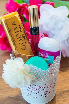 DIY gift bridemaid cute basket