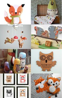 #woodland #nursery - forest theme --Pinned with TreasuryPin.com