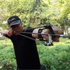 For when the Gardener shoots down a drone.  Eagle of Sniper-Power Archery Slingshot bow arrow Catapult-camouflage #EagleofSniper