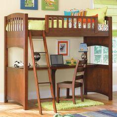 Loft desk/bed