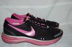 Nike Sneakers Black Pink Livestrong Running Shoes 9 #Nike #RunningCrossTraining