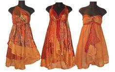 <h1>Falda vestido reversible Magic Wrap de Kariza (multivestido)</h1> : VCTRY's BLOG