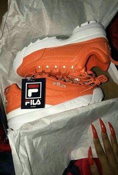 3db45d0f Fila Disruptors, Cute Sneakers, Custom Shoes, Dream Shoes, Shoe Closet, Sock