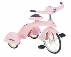 Pink Princess Junior Trike