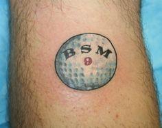 golf tattoos - Google Search