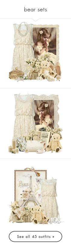 """""""bear sets"""" by countrycousin ❤ liked on Polyvore featuring Alice + Olivia, H&M, John Lewis, Monsoon, Ethan Allen, Zara Home, Bling Jewelry, Rock 'N Rose, LIST and Carolee"""