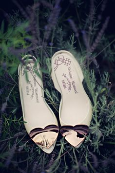 Lovely #wedding shoes
