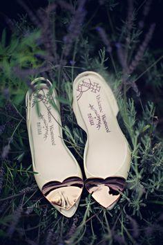 Bride's shoes BHLDN #BHLDNbride