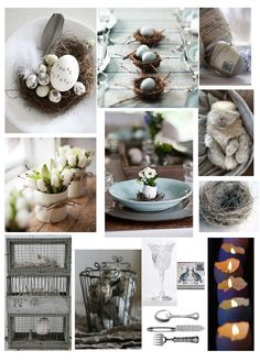 Easter Decorations - Customized Mood Board (Decorating Services) on Etsy… Happy Easter, Easter Bunny, Easter Eggs, Easter Table, Easter Party, Christmas Decorations, Table Decorations, Holiday Decorating, About Easter