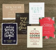 The First Step in Holiday Party Planning with Basic Invite | aliciamhansen.com  discount holiday party invitations  company christmas party invitation template  photo christmas card