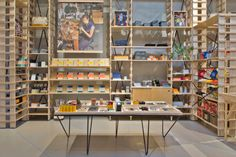 Hand-Eye Supply store by Laurence Sarrazin, New York City