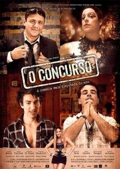 """O CONCURSO (2013)  """"Quatro finalistas para uma vaga de juiz federal se conhecem e ficam amigos. Durante um fim de semana antes da prova,em vez de descansarem, envolvem-se situações hilárias e inimagináveis."""""""