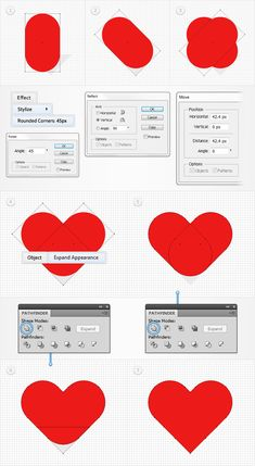 Quick Tip: How to Create a Heart Illustration without the Pen Tool | Vectortuts+