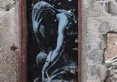 israel palestine conflict gaza strip street art banksy 3