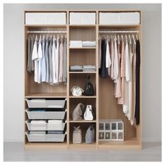 Online Ikea PAX Wardrobe - white stained oak effect - IKEA in Auckland NZ. Lowest prices and largest range of IKEA Furniture in New Zealand. Shop for Living room furniture, outdoor furniture, bedroom furniture, office and alot more ! Pax Corner Wardrobe, Wardrobe Closet, Wardrobe Doors, Wardrobe Ideas, Ikea Pax Closet, Closet Storage, Wardrobe Storage, Placard Pax Ikea, Pax Planer