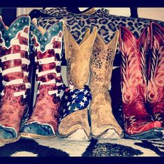 Stagecoach all american cowboy boot fun!