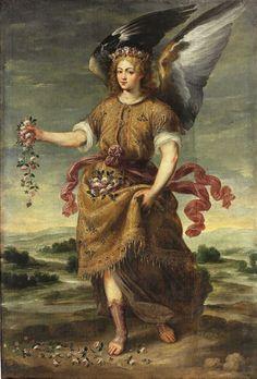 "Képtalálat a következőre: ""archangel barachiel"" Religious Paintings, Religious Art, Prado, Seven Archangels, Catholic Pictures, Angel Drawing, Supernatural Beings, Angels In Heaven, Heavenly Angels"