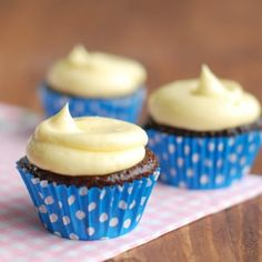 German buttercream is made by adding butter to a thick custard. The result is deliciously creamy and velvety smooth. My favorite kind of buttercream!