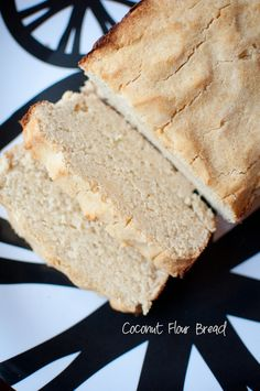 Really Good Coconut Flour Bread! I added one tbsp of canola oil and a little extra coconut/almond milk until batter wasn't so dry and then cooked it for an extra ten min..you can also add in choc chips!