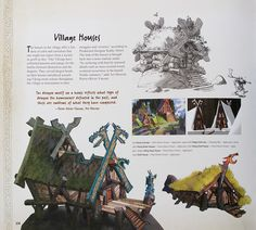 Living Lines Library: How To Train Your Dragon (2010) - Locations & Props