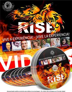 Ya están disponibles las grabaciones del Épico Evento RISE 2017 en 20 VÍDEOS. Van a estar a la venta solamente unos días. SI NO ESTUVISTE EN EL EVENTO y quieres VIVIR LA EXPERIENCIA envíame un mensaje privado para darte el enlace. Que lo disfrutes!!! #Rise2017 #ViveLaExperienciaRise