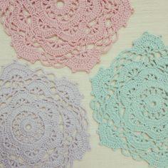 ByHaafner * crochet : A Doily A Day...