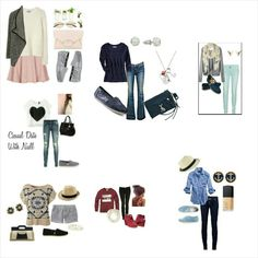 LOVE these outfits with TOMS!!!