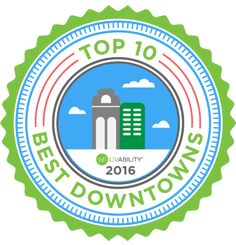 Top 10 Downtowns   Livability