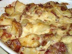 Loaded bake potatoes