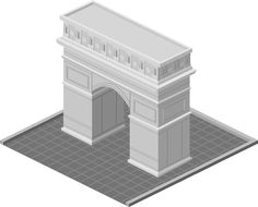 Triumphal arch Mobile Game, Arch, Sketch, Sketch Drawing, Longbow, Sketches, Wedding Arches, Bow, Arches