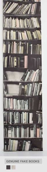 Genuine Fake Bookshelf From Deborah Bowness'