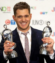 Michael Buble juno awards - He's about to host the next Juno Awards coming up! Michael Buble, Sing Me To Sleep, People Of Interest, Teen Choice Awards, Good Music, Amazing Music, Hollywood Star, Beautiful Voice, Comedians