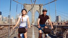 Tour em bicicleta pela Brooklyn Bridge #nyc #weplann #family