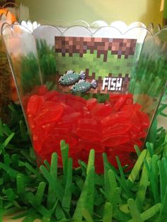 Minecraft Birthday Party Ideas | Photo 16 of 27 | Catch My Party