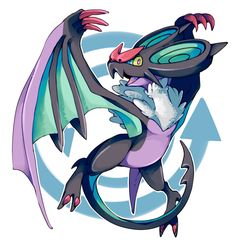 gotta catch em all! Dragon Type Pokemon, Flying Type Pokemon, Pokemon X And Y, Pokemon Oc, Pokemon Fan Art, Cute Pokemon, Pokemon Kalos, Pokemon Gijinka, Shadow Sonic