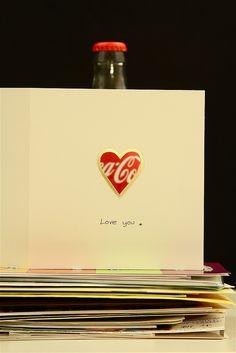 """I love you, Coke"""