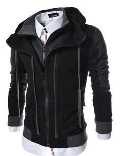 TheLees (LCJ11) Mens Casual Slim Fit Hood Cotton Jacket Black 2X-Large(US X-Large) TheLees http://www.amazon.com/dp/B00EQ0C1OI/ref=cm_sw_r_pi_dp_-abcub0YEEPR1