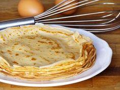 ΖΥΜΗ ΓΙΑ ΚΡΕΠΕΣ Cookbook Recipes, Cooking Recipes, Greek Pastries, The Kitchen Food Network, Appetisers, Breakfast For Kids, Crepes, Food Network Recipes, Pancakes