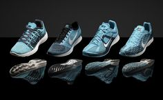 """Nike Unveils """"Gamme Blue"""" & """"Pink Foil"""" Track and Field Footwear"""
