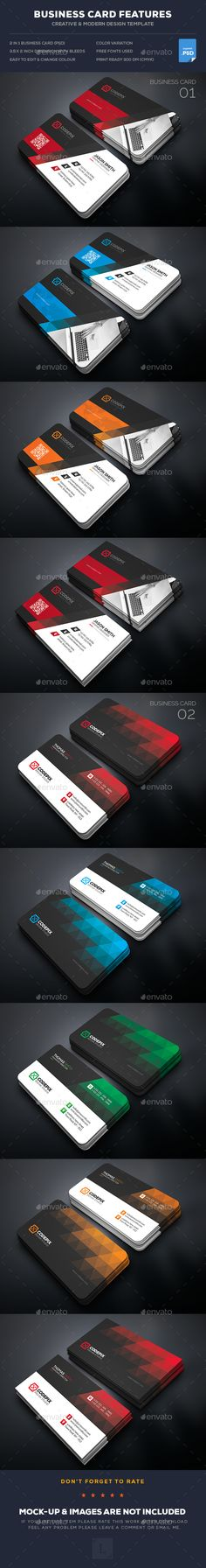 341 best creative business cards images on pinterest business creative business card bundle fbccfo Image collections
