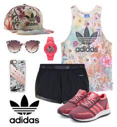 """Adidas"" by keila-87 on Polyvore featuring moda, adidas Originals, adidas e Casetify"