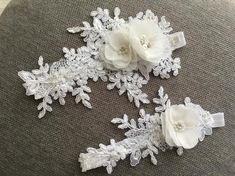 Your place to buy and sell all things handmade White Wedding Garter, White Bridal, Bridal Lace, Lace Garter, Garter Belts, Barefoot Sandals Wedding, Wedding Looks, Perfect Wedding, Bridal Gifts