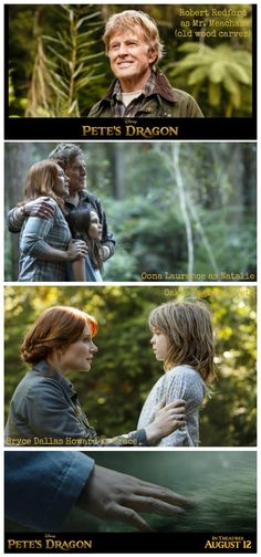 First Images from the Film Pete's Dragon!!!!