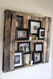 Een mooi pallet wandbord voor aan de muur. Handig zelf te maken. Je kan je eigen invulling wat je erin wilt.