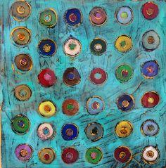 "m. Robinson Artworks   Prairie Village Art Show 2016   abstract, wooden frame, acrylic glaze? Nice colors, ~ 8"" x 30"", $300?? mrobinsonartworks.com Michael and Mary Ann Holmes"